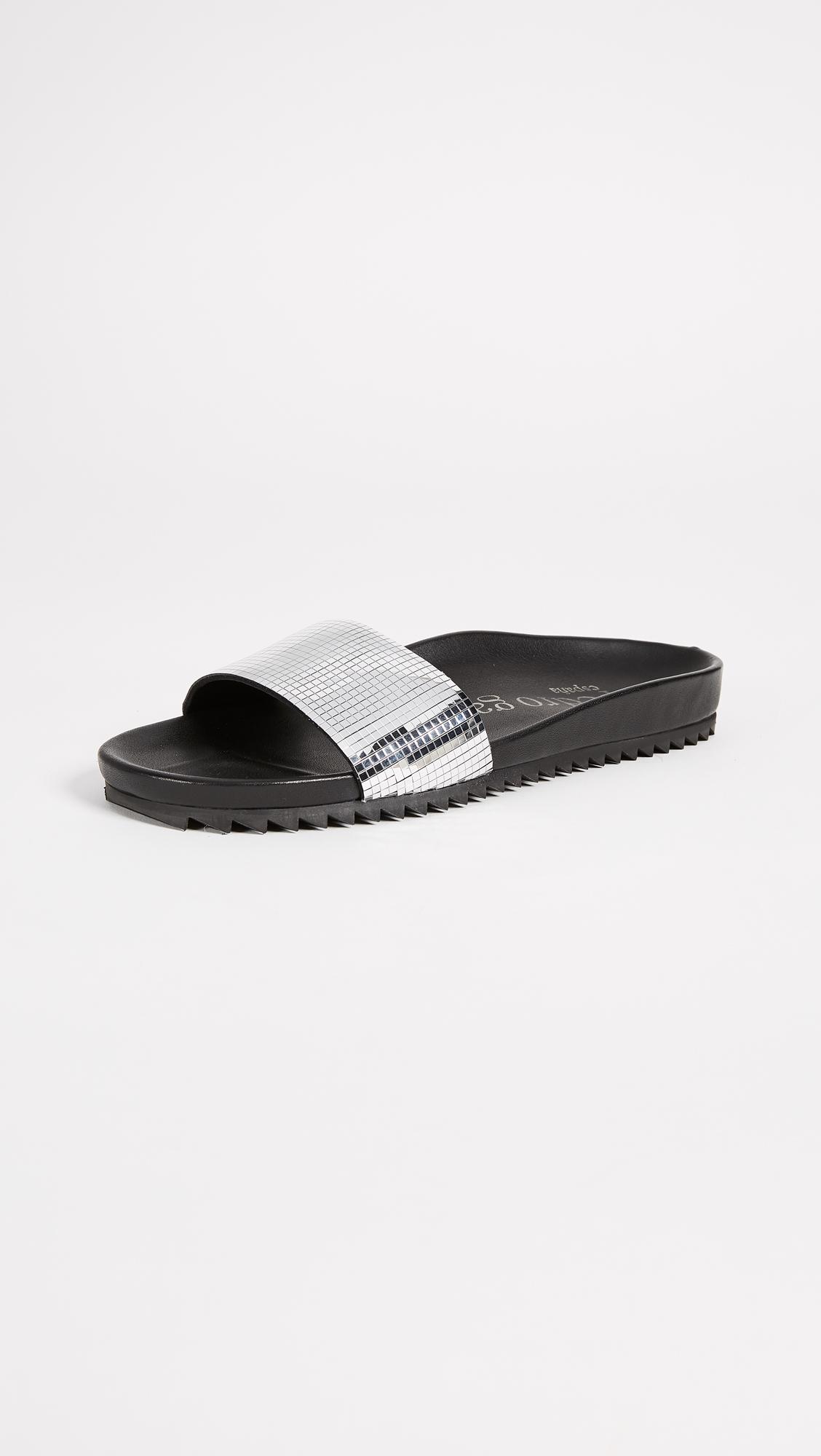 Pedro Garcia Alice Slides - Silver