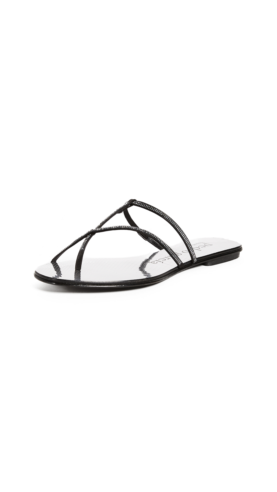 Pedro Garcia Estee Thong Sandals - Black