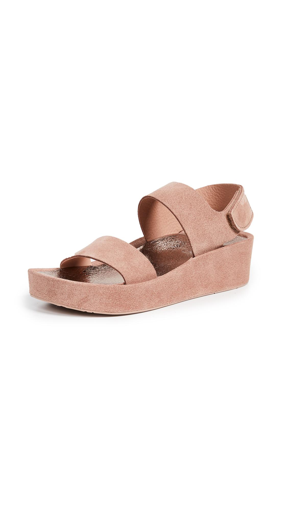 Pedro Garcia Lacey Platform Sandals - Macaron