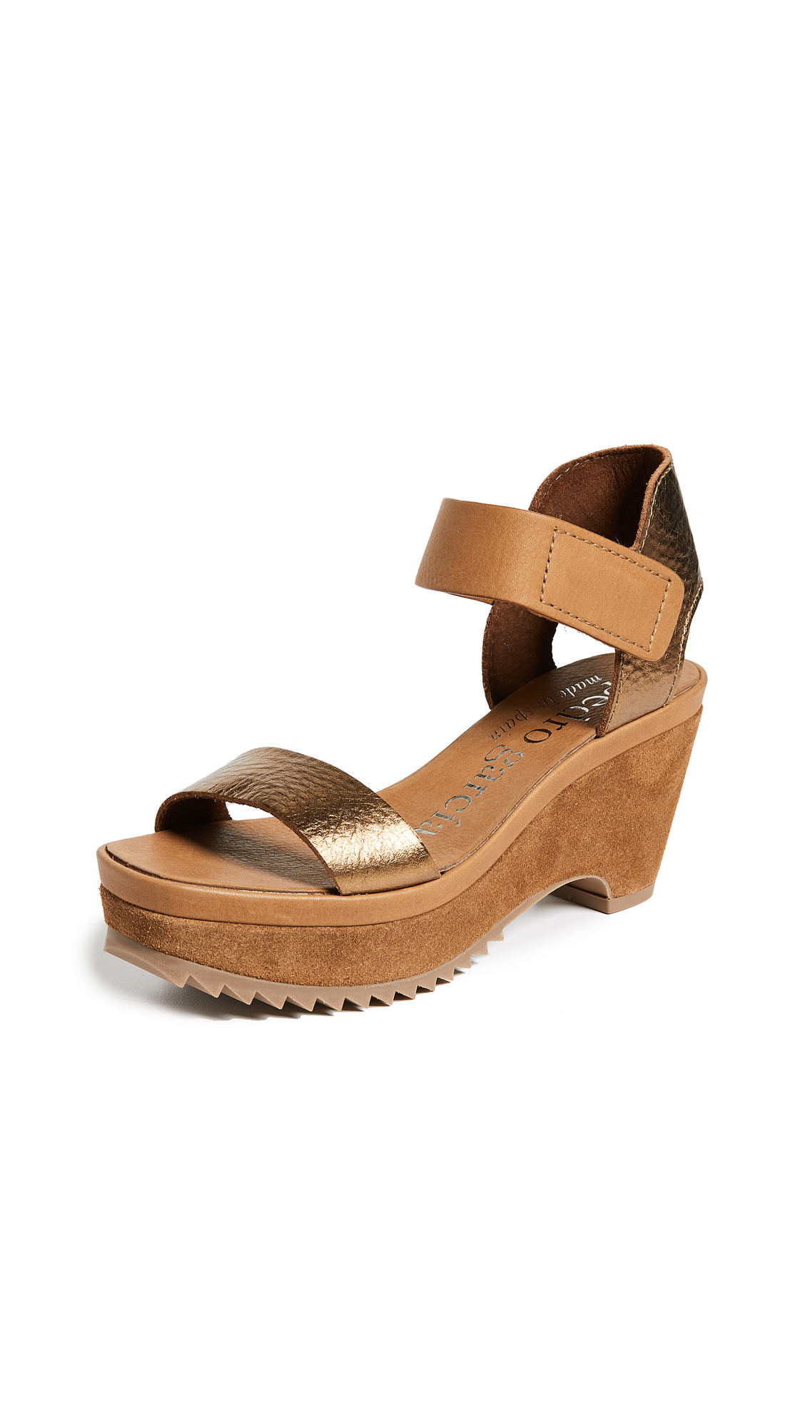 Pedro Garcia Franses Wedges - Tobacco
