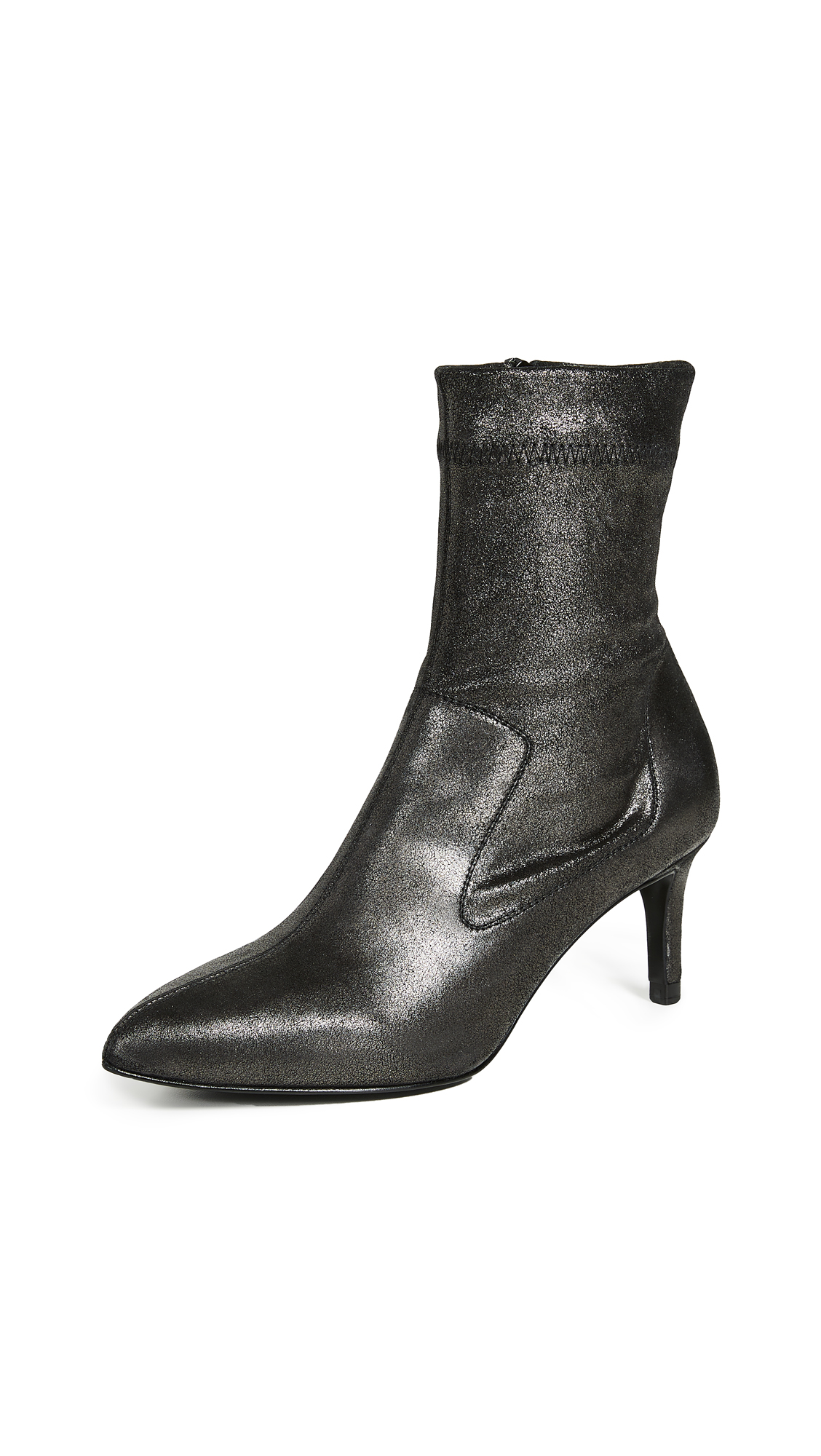 Pedro Garcia Ernesta Booties In Anthracite