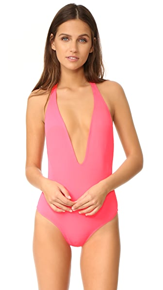 Peixoto Flamingo Swimsuit