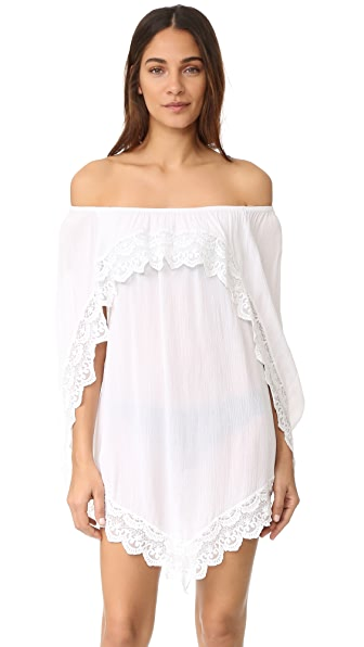 Peixoto Gold Coast Cover Up In White