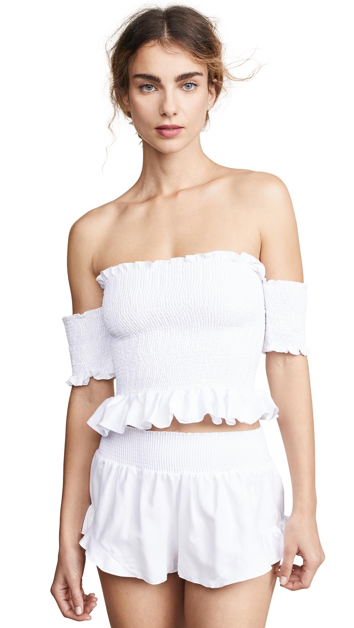 PEIXOTO Nina Top in White
