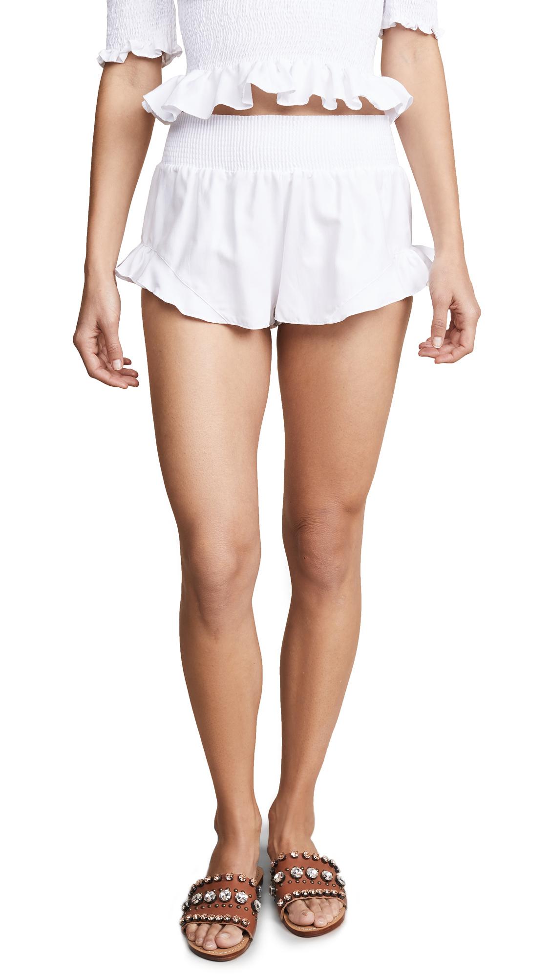 PEIXOTO Jane Shorts in White