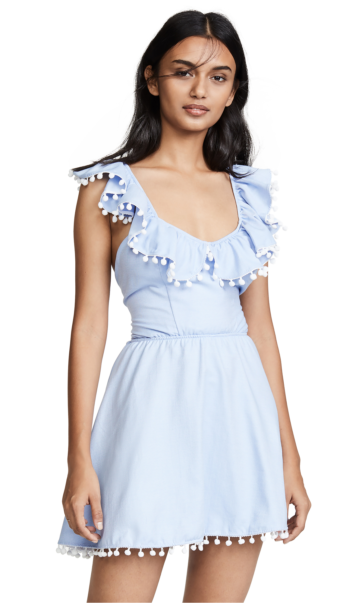 PEIXOTO Lara Dress in Sky Blue