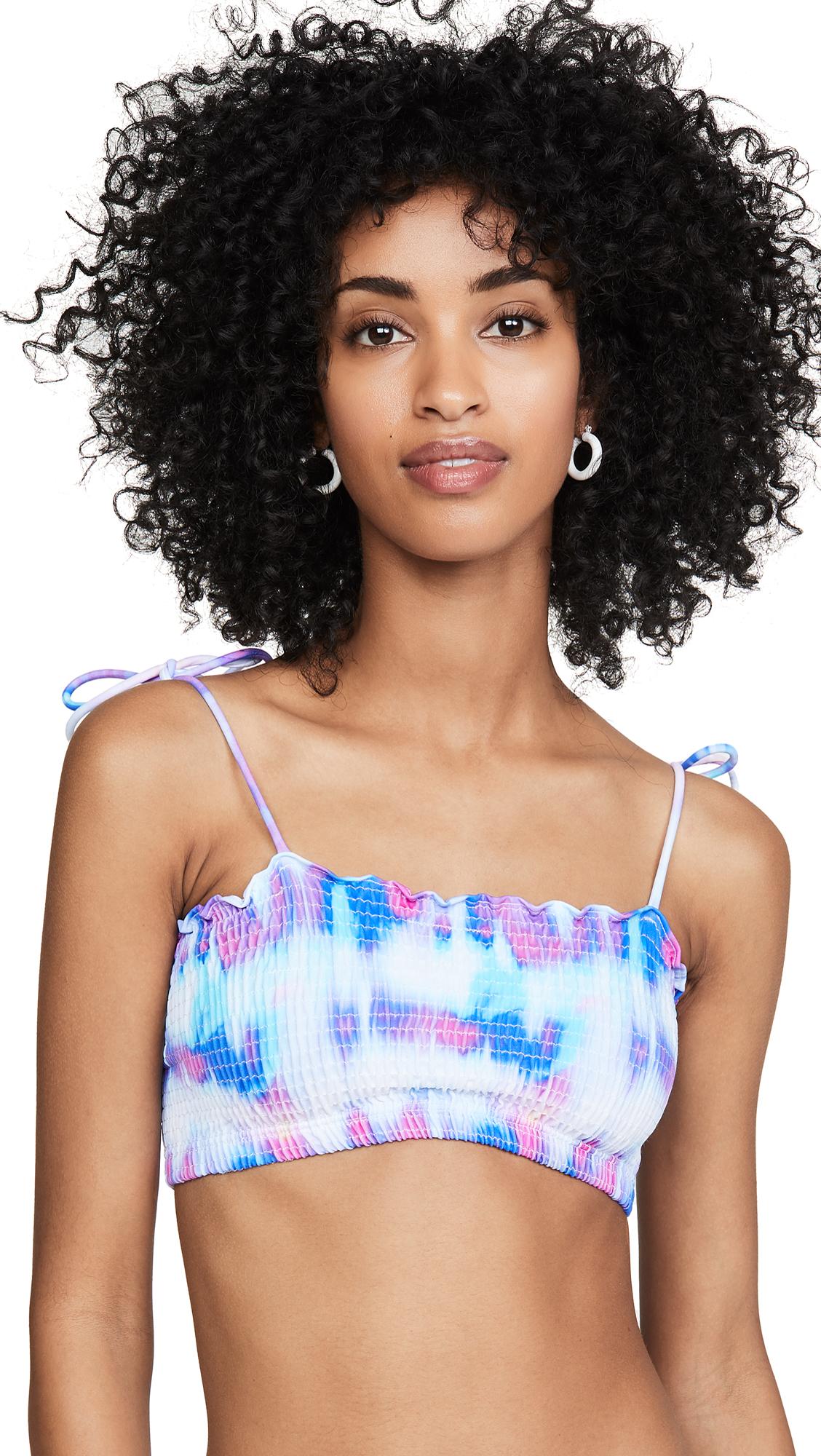 Buy Peixoto online - photo of Peixoto Cleo Tie Dye Bikini Top