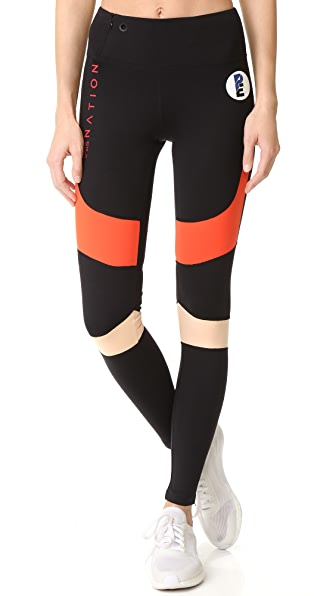 P.E NATION Corner Back Leggings