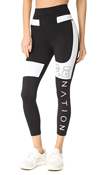 P.E NATION Roll Out Leggings