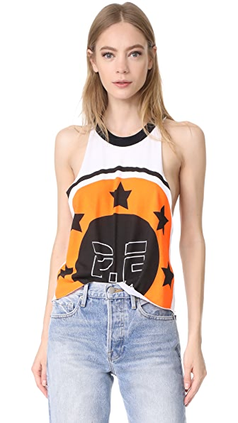P.E NATION On Your Marks Tank - Orange