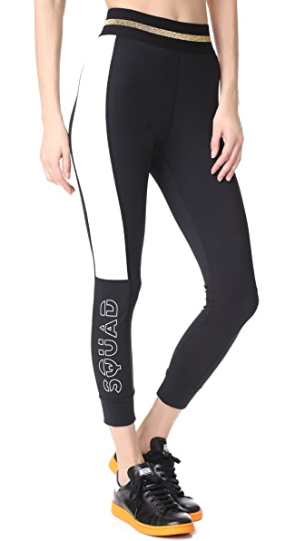 P.E NATION Side Line Leggings - Black
