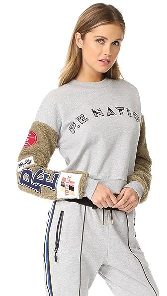 P.E NATION Box Out Sweatshirt - Grey