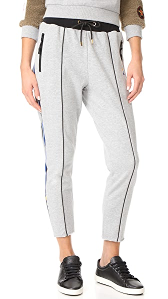P.E NATION Deuce Track Pants - Grey