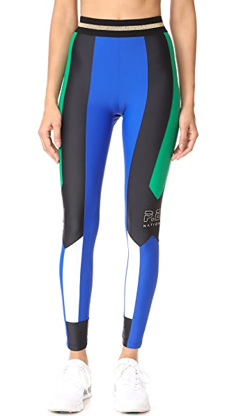 P.E NATION Riseball Leggings - Multi