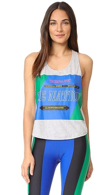 P.E NATION The Countback Tank