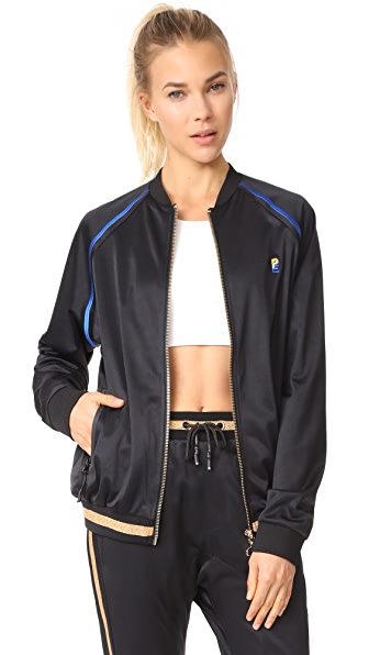 P.E NATION The 100M Dash Jacket - Black
