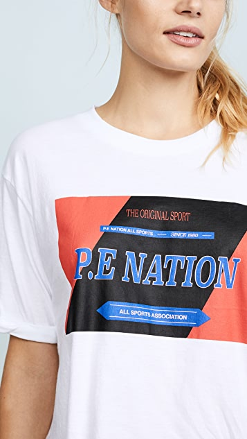 P.E NATION The Forward Tee