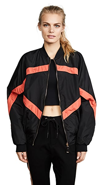 P.E NATION Power House Reversible Jacket In Multi