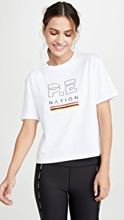 P.E NATION Ignition 短款 T 恤