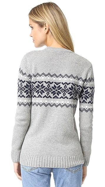 Penfield Hickman Snowflake Sweater