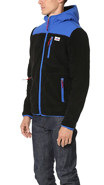 Penfield Carson Hooded Pile Fleece Jacket