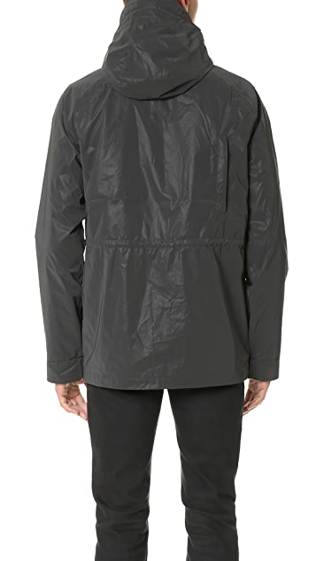 Penfield Kasson Reflective Hooded Mountain Parka