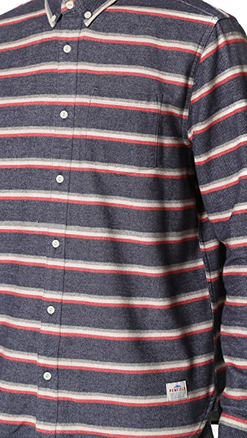 Penfield Hants Brushed Cotton Stripe Shirt