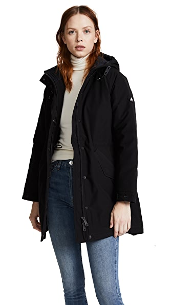 Penfield Kingman Jacket In Black