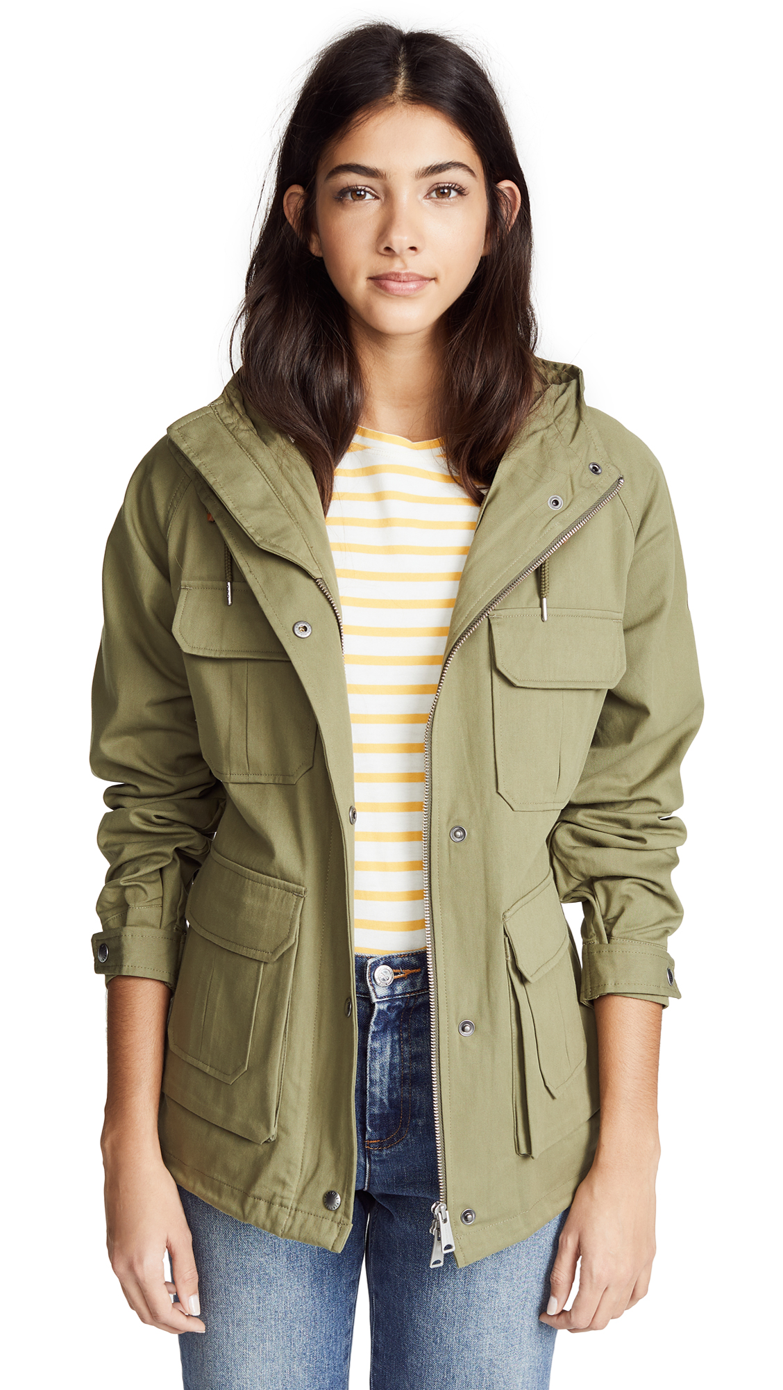 Penfield Vassan Parka In Olive