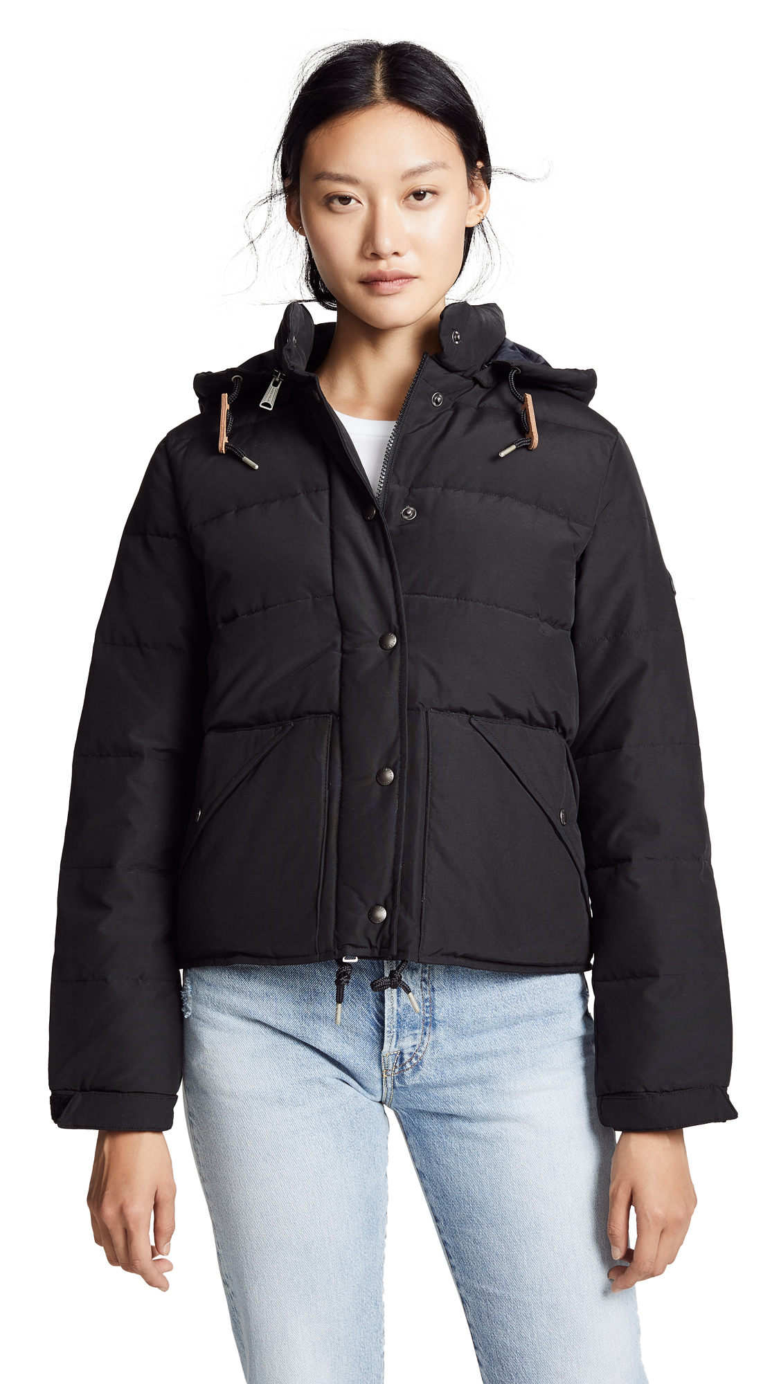 PENFIELD Bowerbridge Coat in Black