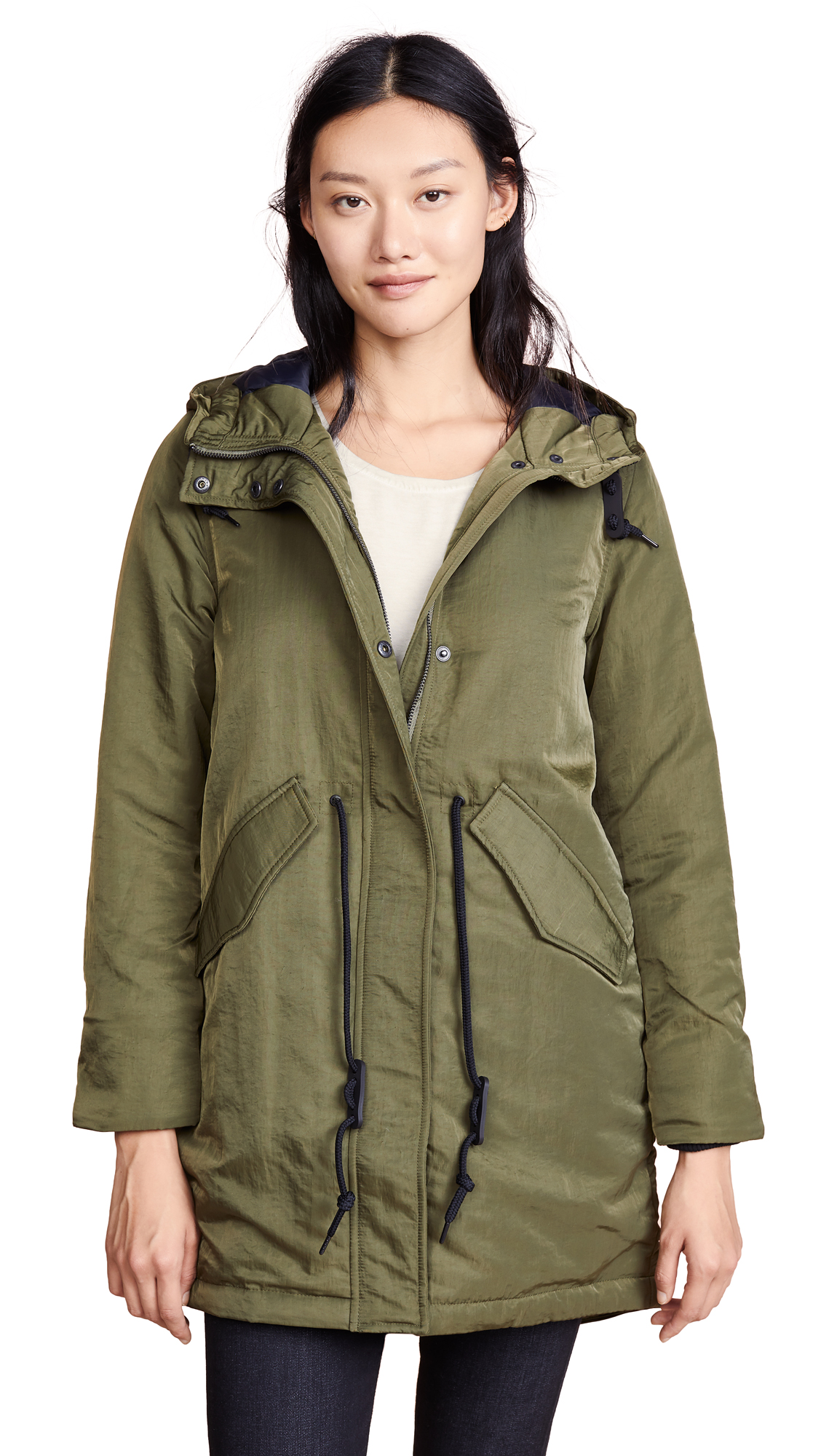 Penfield Greenwood Parka In Olive