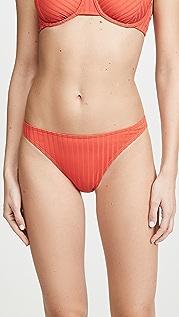 Peony Swimwear Плавки бикини Tangerine