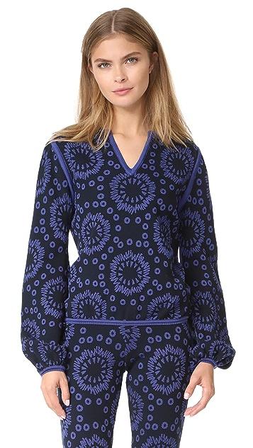 Pepa Pombo Patterned Sweater