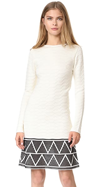 Pepa Pombo Long Sleeve Dress