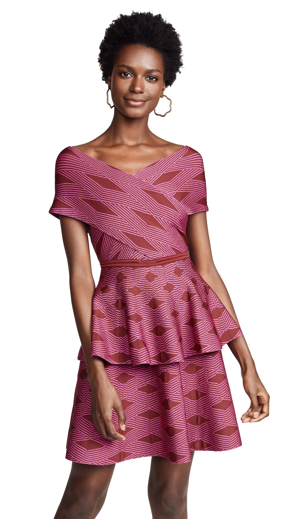 Pepa Pombo Molly Dress - Ciruela/Fuchsia