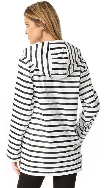 Petit Bateau Fiona Button Hoodie Raincoat