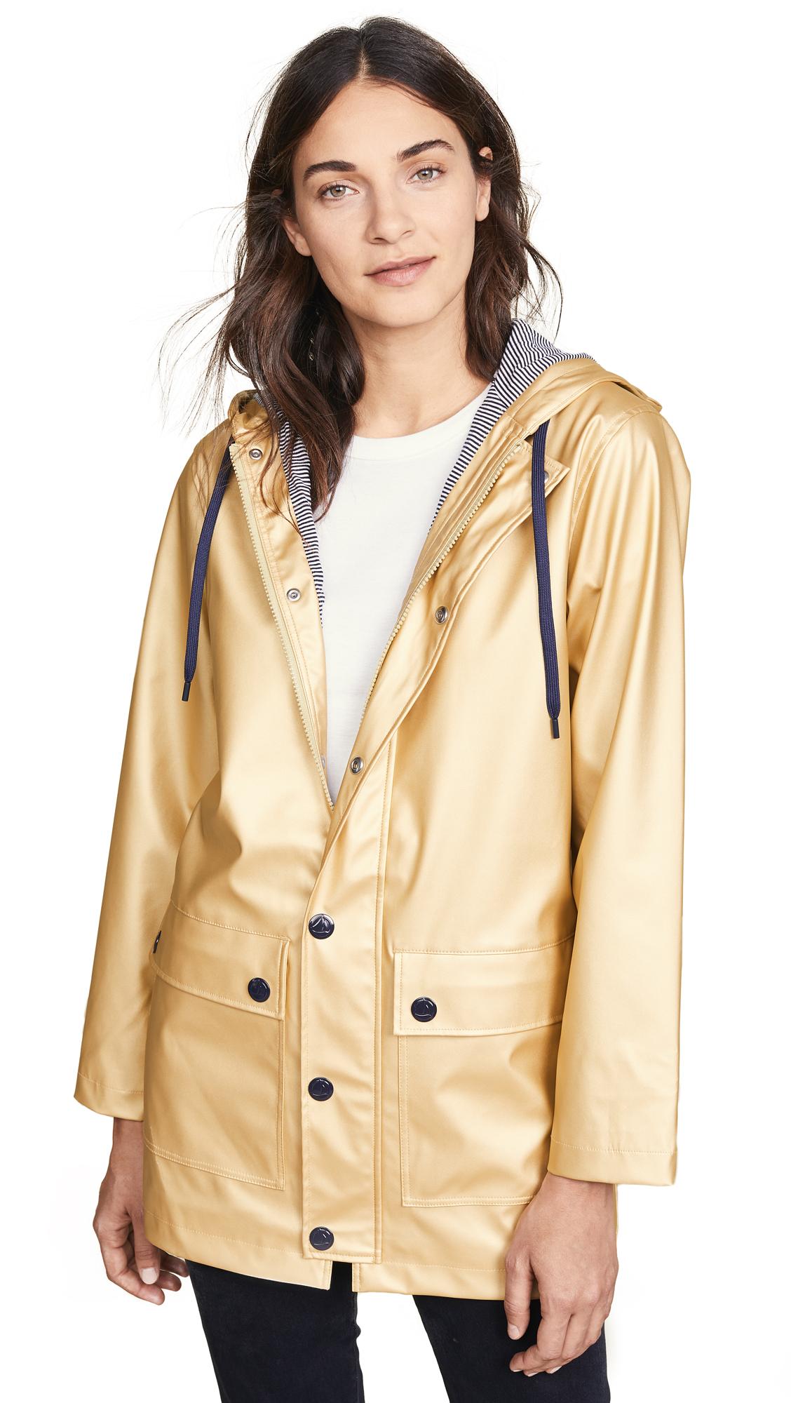 Petit Bateau Metallic Classic Raincoat