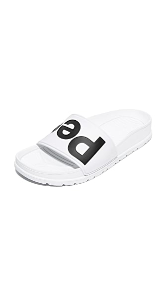 People Footwear Lennon Slides - White