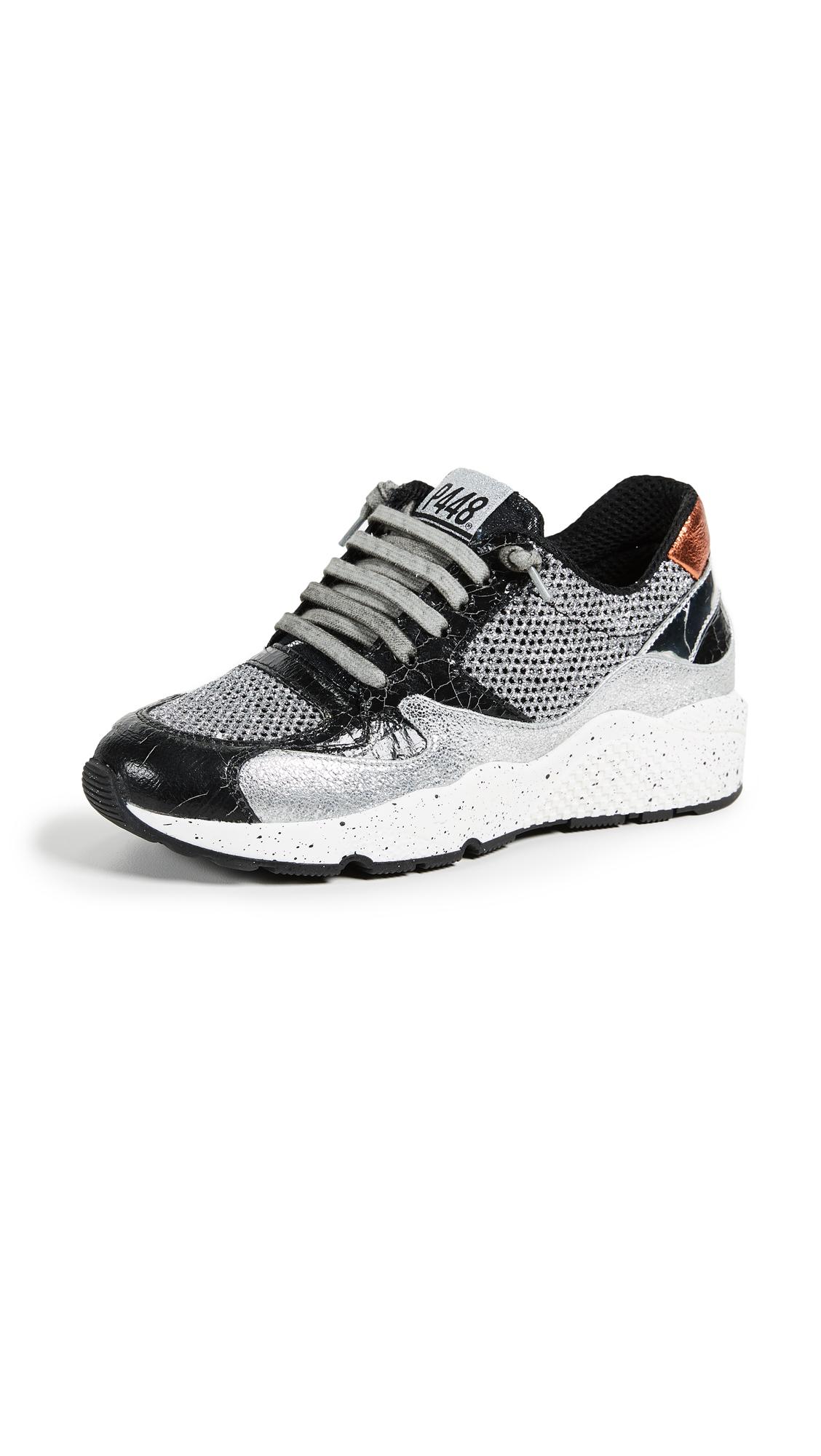 P448 America Sneakers - Silver