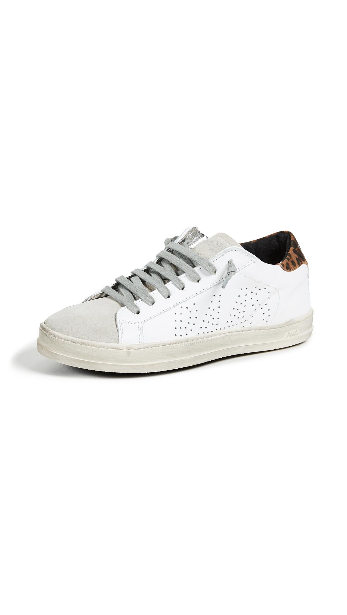 P448 John Sneakers - White/Leo