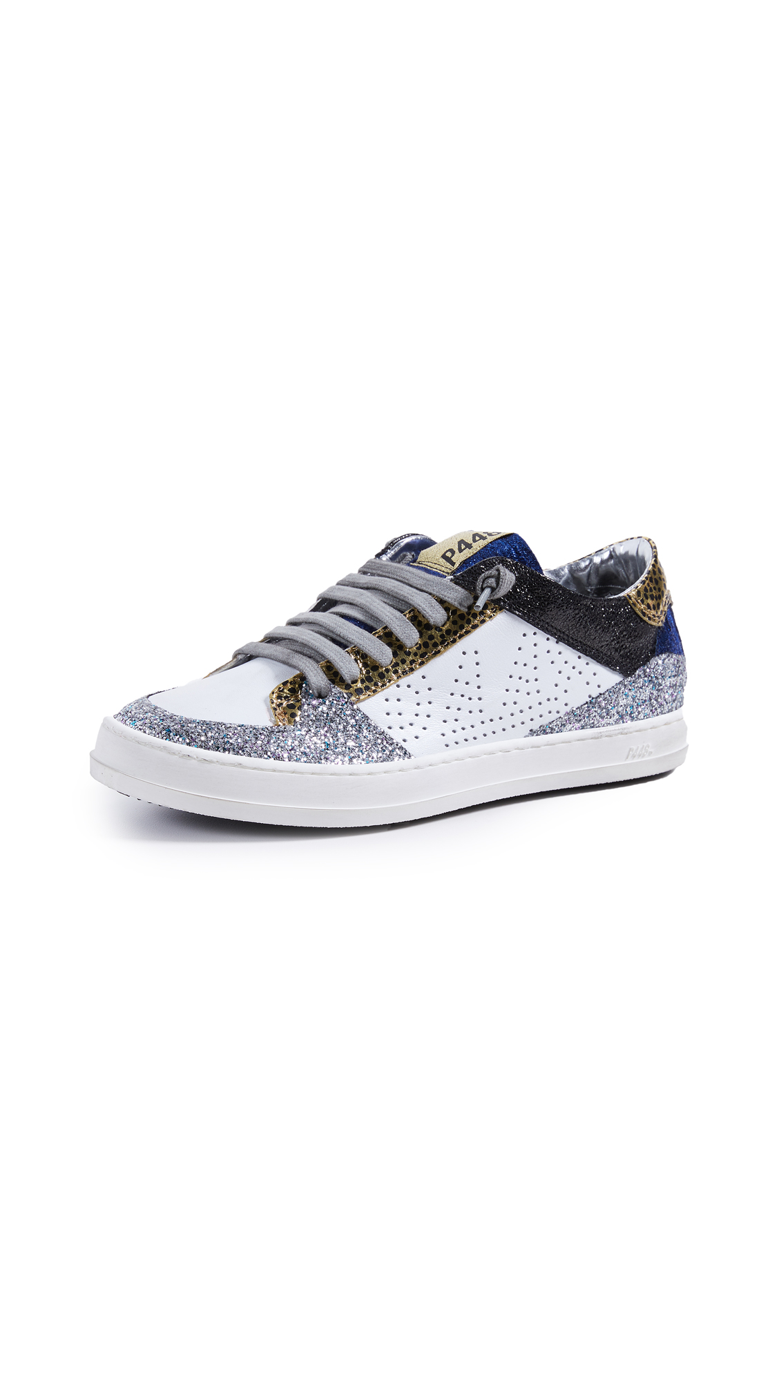 P448 Queens Sneakers - White Pearl