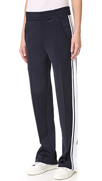 Phat Buddha Barclays Track Pants - Evening Blue/Bright White