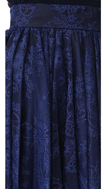 Philosophy di Lorenzo Serafini Lace Skirt