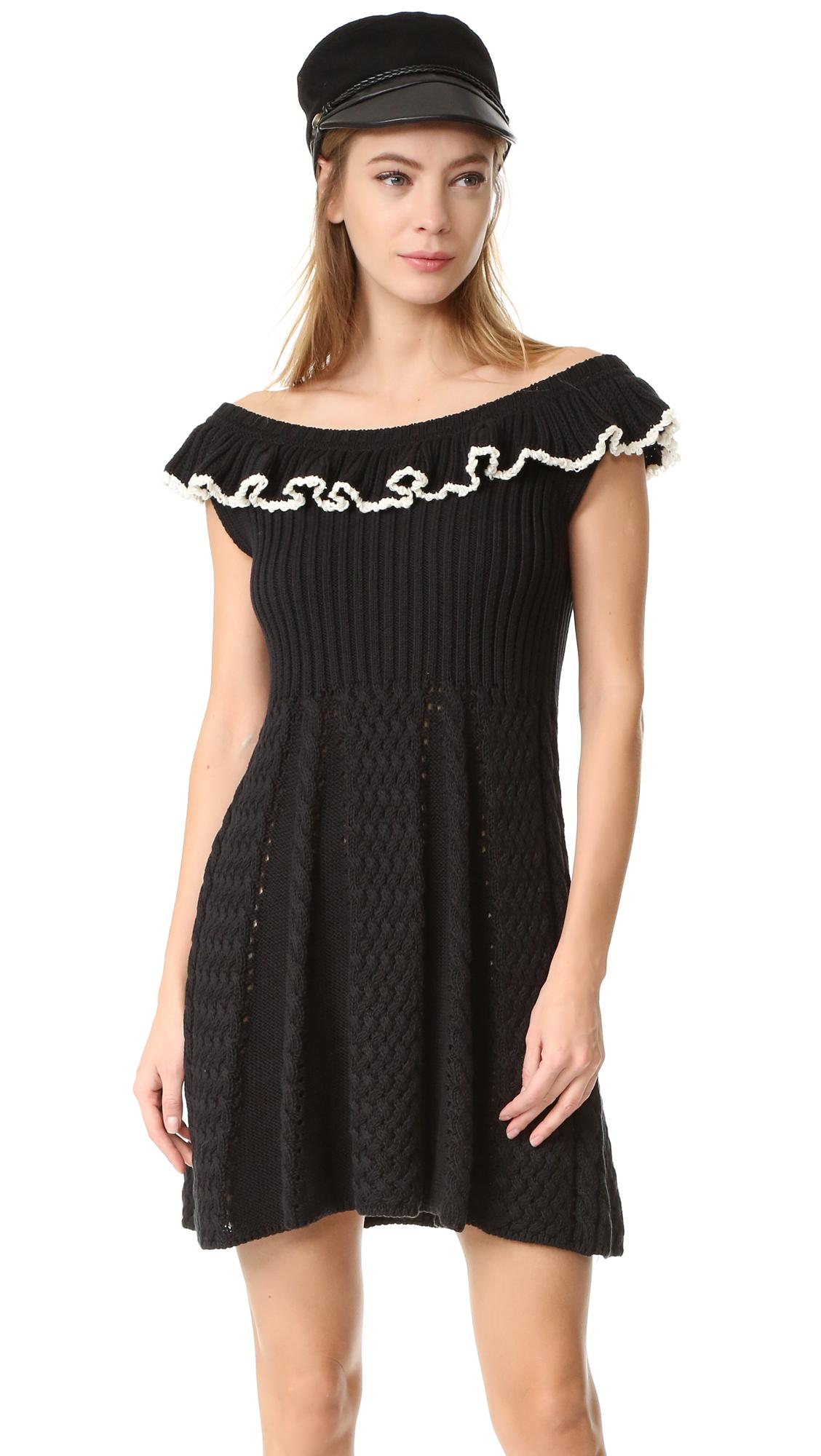 philosophy di lorenzo serafini female philosophy di lorenzo serafini cap sleeve dress black