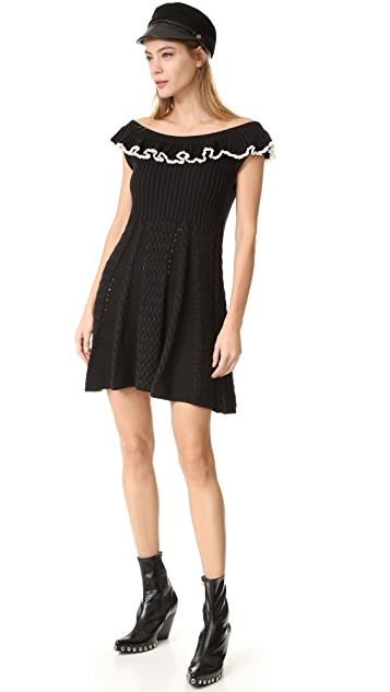 Philosophy di Lorenzo Serafini Cap Sleeve Dress