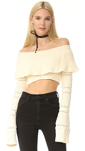 Philosophy di Lorenzo Serafini Cropped Sweater