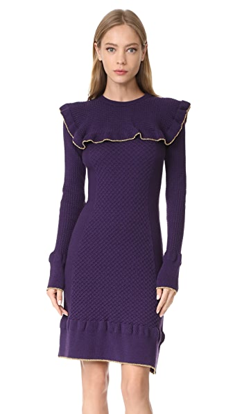 Philosophy di Lorenzo Serafini Ruffle Dress - Violet
