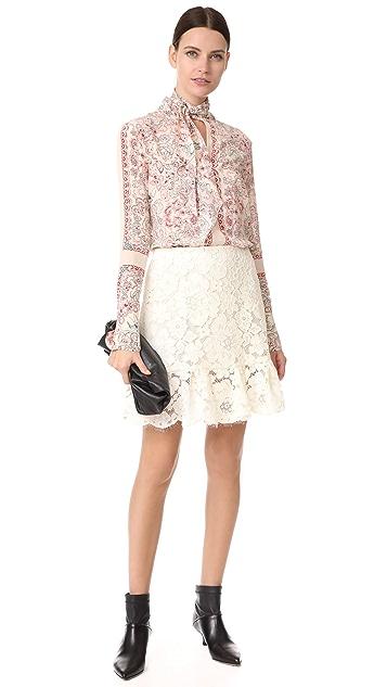 Philosophy di Lorenzo Serafini Mini Lace Skirt