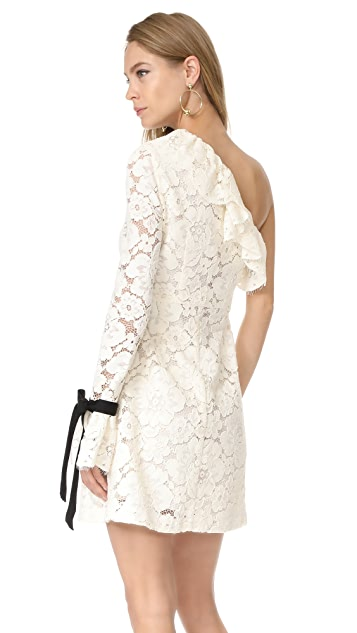 Philosophy di Lorenzo Serafini One Shoulder Dress