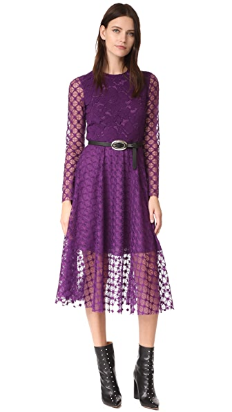 Philosophy di Lorenzo Serafini LS Midi Dress - Violet